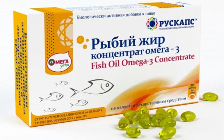рыбий жир омега 3 в капсулах польза