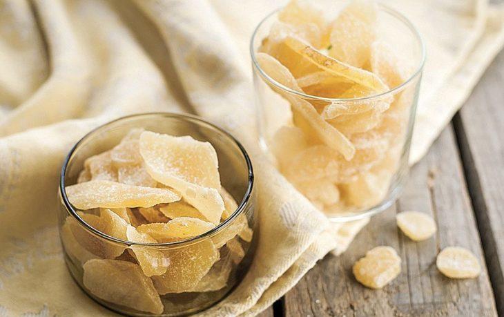 цукаты из имбиря польза и вред