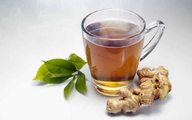 черный чай с имбирем польза