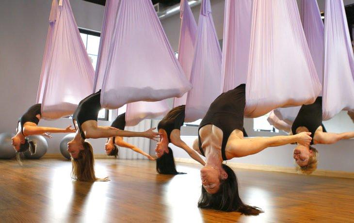 йога в гамаках противопоказания и польза