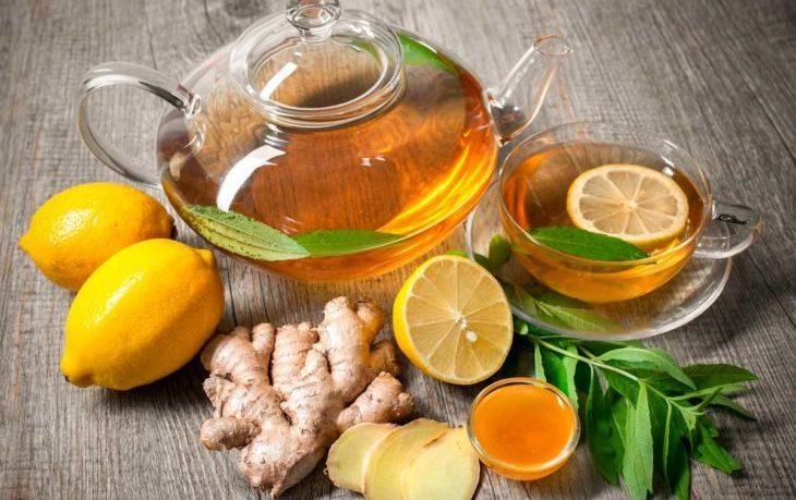 имбирный чай с лимоном польза