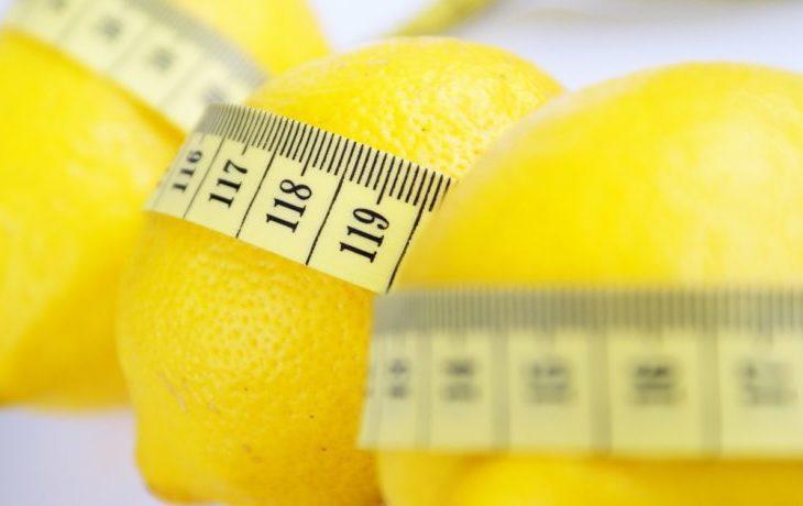 польза лимона для организма человека при похудении