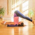 Польза и вред йоги: поза бабочки лежа, поза плуга, поза дерева