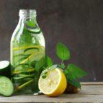Польза и вред воды с лимоном и огурцом, куркумой, корицей, апельсином
