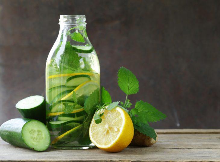 вода с лимоном и огурцом польза и вред