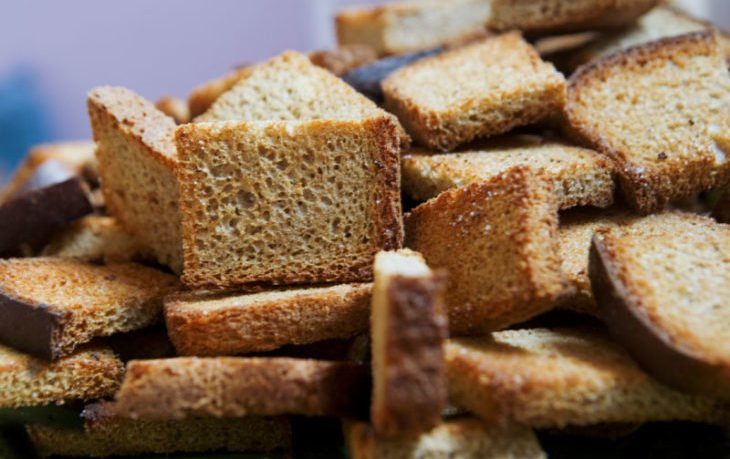 подсушенный хлеб польза и вред