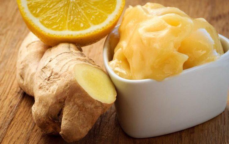 имбирь лимон мед польза и вред