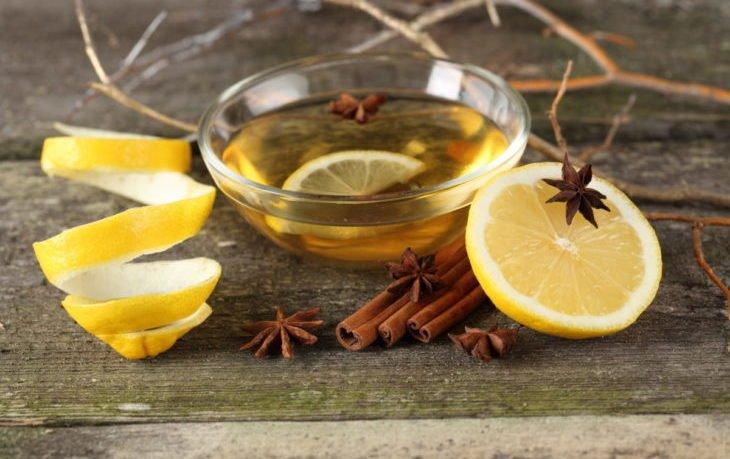 вода с лимоном и корицей польза