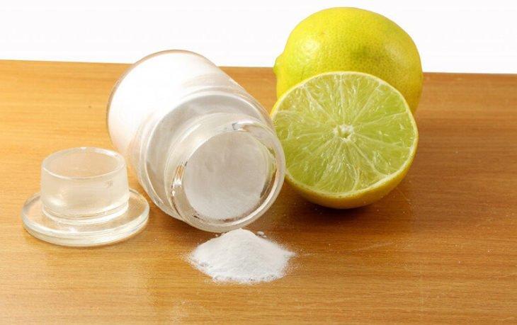 лимон с содой польза и вред