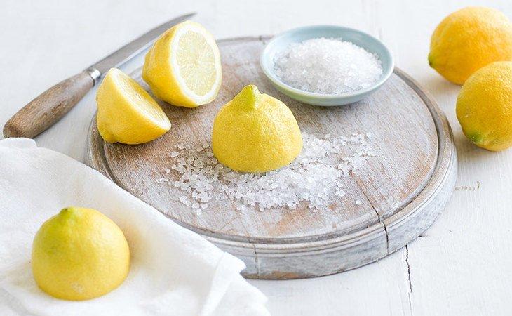 лимон с солью польза и вред
