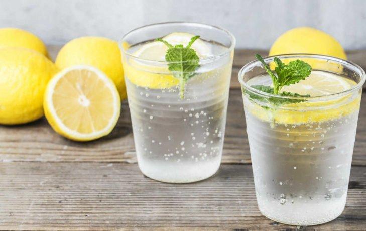 минералка с лимоном польза