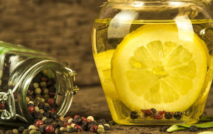 оливковое масло с лимоном польза и вред
