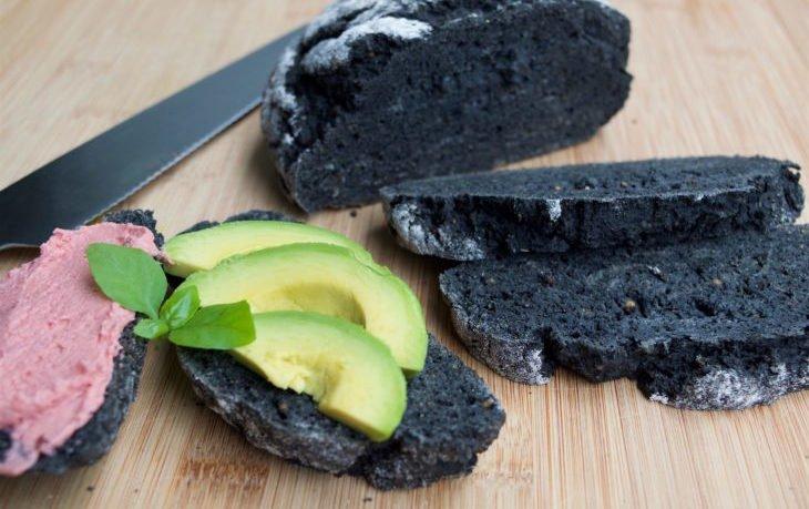 угольный хлеб польза и вред