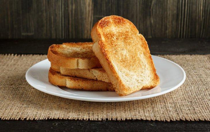 польза поджаренного хлеба