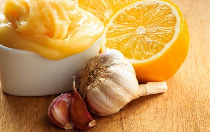 польза смеси меда лимона чеснока