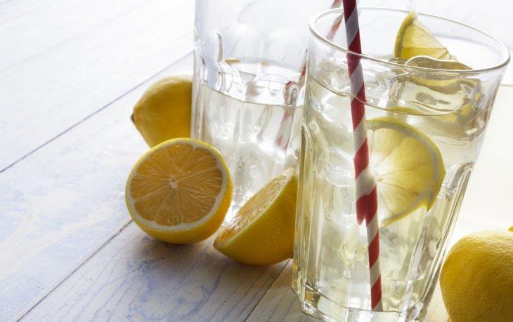 горячая вода с лимоном польза