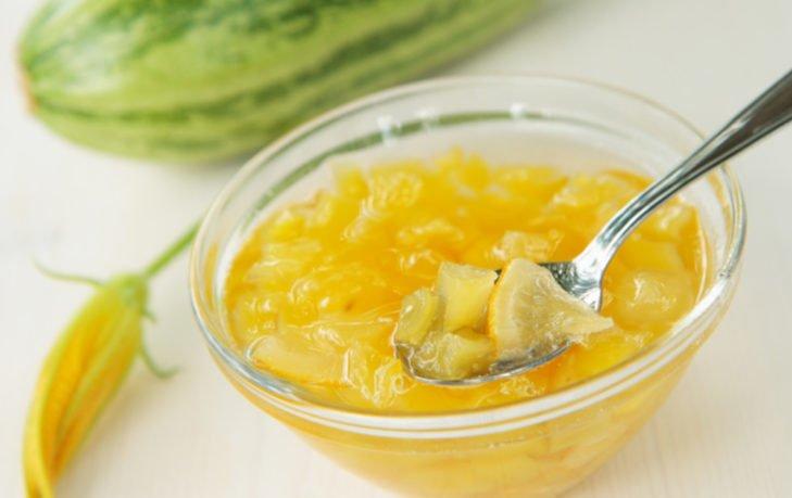 варенье из кабачков с лимоном польза
