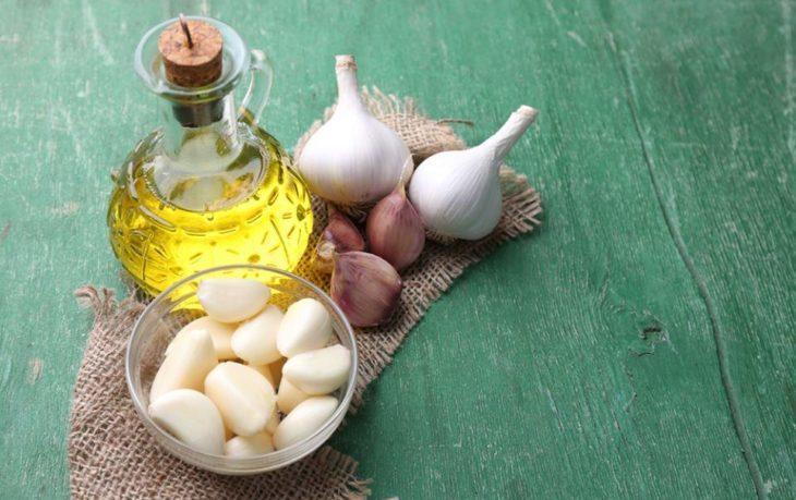 чеснок с маслом подсолнечным польза и вред