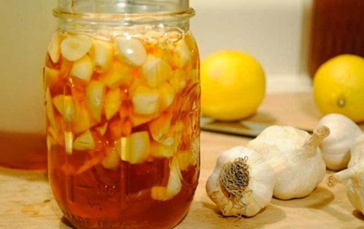 мед уксус и чеснок польза