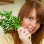 Польза и вред петрушки для здоровья организма женщины
