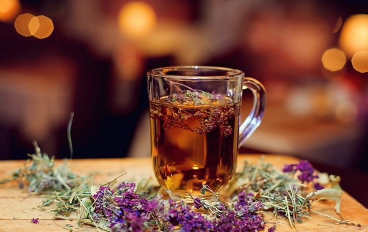травяной чай чабрец польза