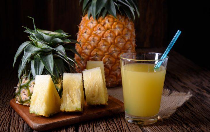 в чем польза ананасового сока