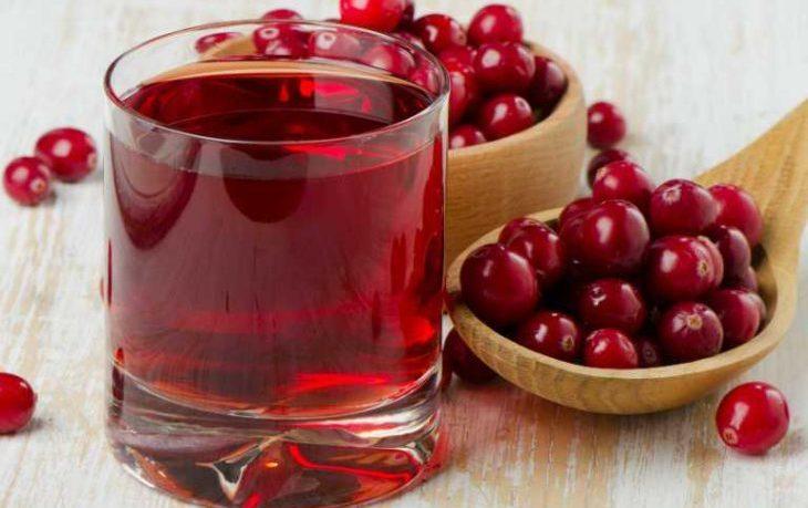 клюквенный сок польза для женщин