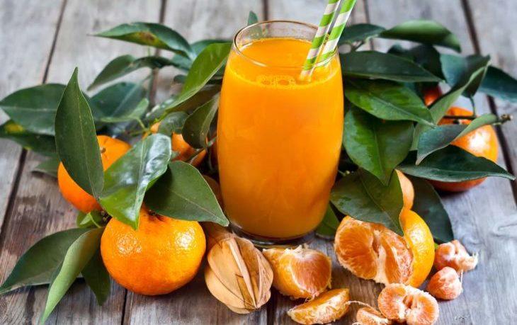 сок мандариновый польза и вред