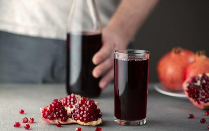 гранатовый сок польза и вред для мужчин