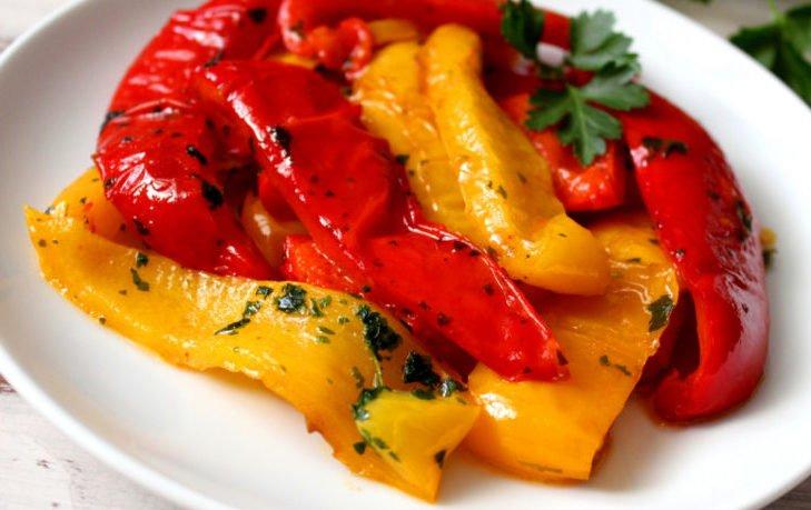 печеный болгарский перец польза и вред