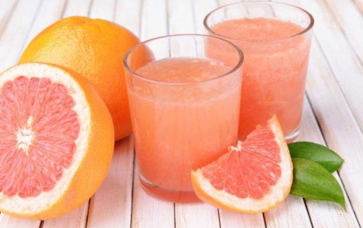 сок грейпфрута польза и вред
