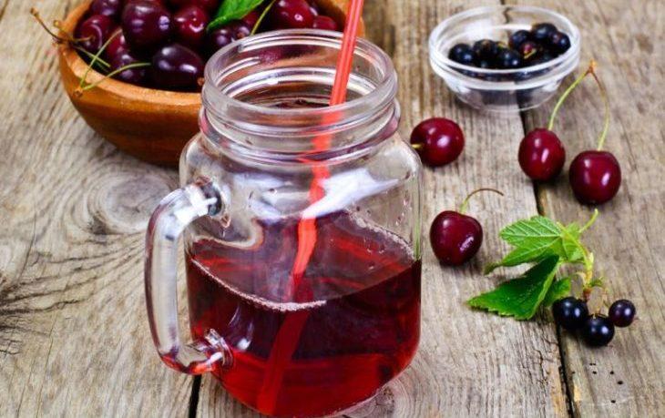 вишневый сок польза и вред