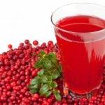 Польза и вред сока брусничного, малинового, дубового