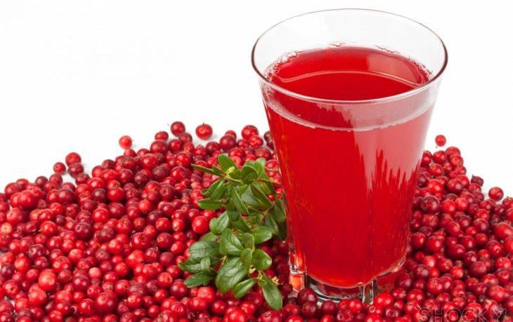 брусника сок польза