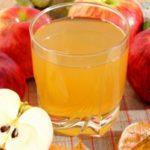 Польза и вред яблочного сока для печени, натощак, на ночь