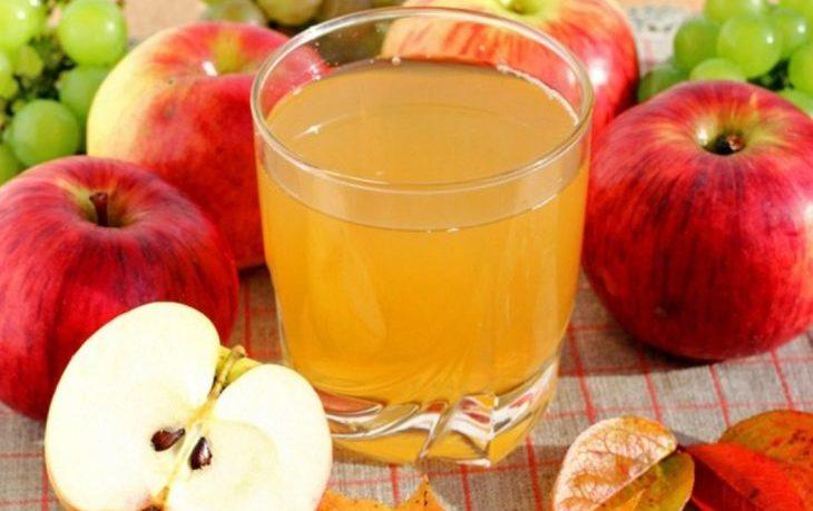 яблочный сок натощак польза и вред