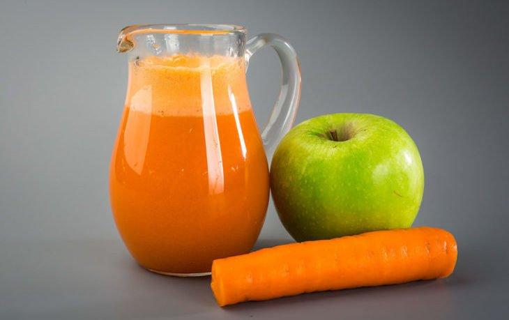 морковно яблочный сок польза и вред