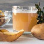 Польза и вред картофельного сока для организма человека