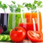 Польза и вред овощных, зеленых, фруктовых соков