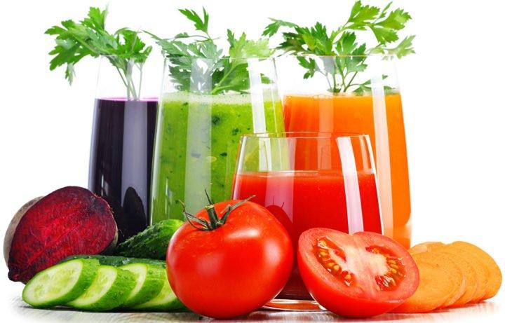 овощные соки польза и вред