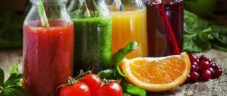 свежевыжатый сок польза и вред