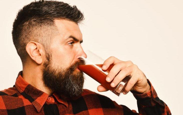 польза и вред томатного сока для мужчин