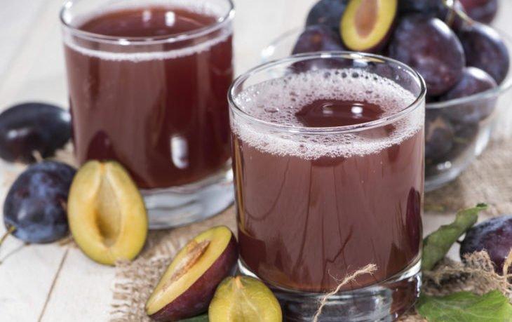 сливовый сок польза и вред