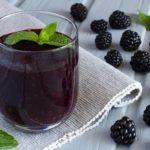 Польза и вред сока айвы, арбуза, ежевики