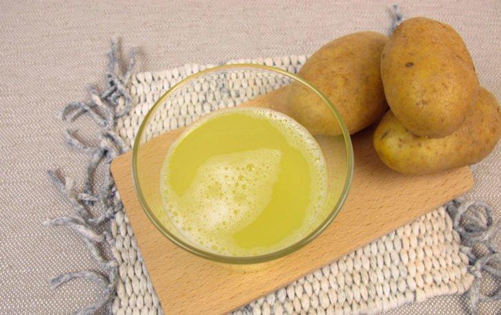 сок из картофеля польза