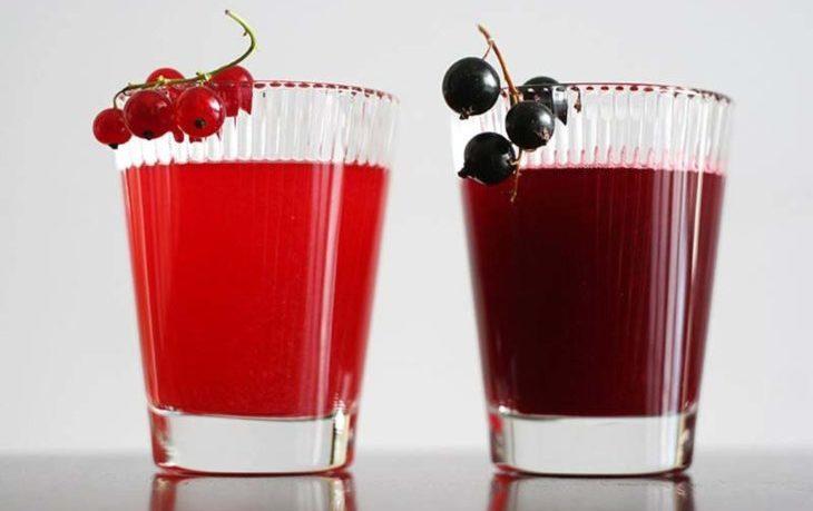 сок смородины польза и вред