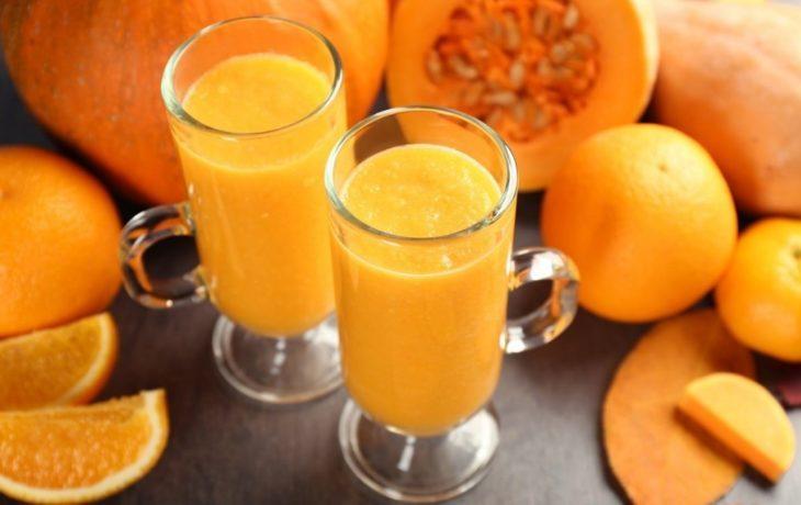 тыквенный сок с апельсином польза и вред