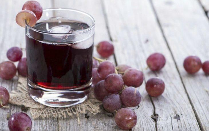 виноградный сок польза и вред