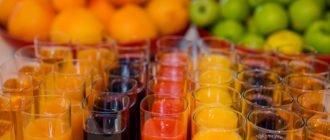 свежие соки польза и вред