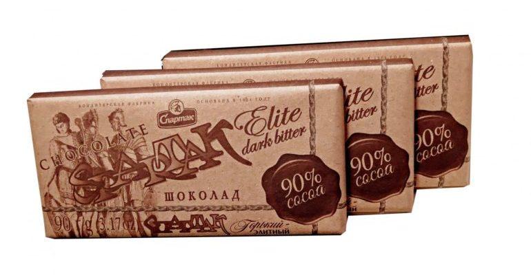 горький шоколад 90 процентов польза